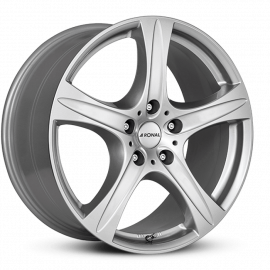 JANTE RONAL R55 SUV ARGENT METAL 17/18/19/20""