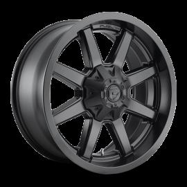 JANTE FUEL MAVERICK D436 MATT BLACK 20x8.25 / 20x9 / 20x10 / 22x12 5 / 6 / 8 Lug