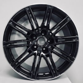 JANTE ZP11803 857 Gloss black machine lip 9X22 5X112 ET22 / 10X22 5X112 ET15 66.45