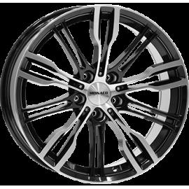 JANTE MONACO GP8 Gloss Black / Polished 8,0X19 5/120 ET32 / 9X19 5X120 ET 30 72,6
