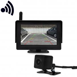 Caméra de recul avec moniteur Aide au stationnement pour automobile