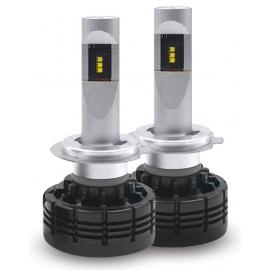AMPOULES LEDS POUR FEUX DE ROUTE / DE CROISEMENT 24-36V H7 6000K