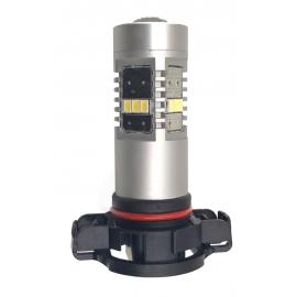 Ampoule LED universelle feux antibrouillard CAN BUS intégré PSX24