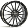 JANTE MONACO MC1 Gloss Black / Polished lip 8,0X18 5X112 ET45 66,5