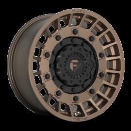 JANTE FUEL 4X4 MILITIA   D725 Bronze w/ Matte Black 17x9 / 20x9 / 20x10 5 / 6 / 8 T