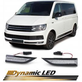 Les indicateurs latéraux à LED dynamiques sont clairs pour le bus transporteur VW T6 à partir de 15