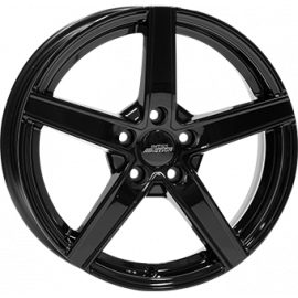 JANTE INTER ACTION 2 SKY  GLOSS BLACK 	7,5X18  5/112 ET39 66,4
