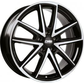 JANTE CMS C30  Gloss Black / Polished 7X17 5X112 ET45 57,1