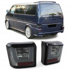 feux arrière à LED Lightbar Black Smoke pour VW T4 Bus Transporter 90-03