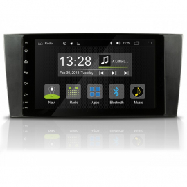 AUTORADIO RADICAL ANDROID MERCEDES C W203