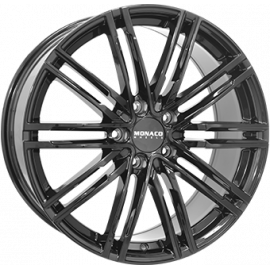 JANTE MONACO GP7 GLOSS BLACK 9,5X20  5/130 ET50 71,6