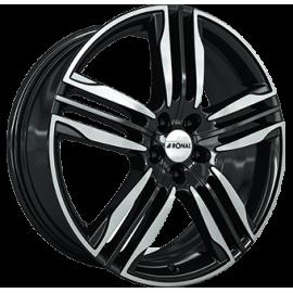 JANTES   RONAL R58  Gloss Black / Polished  8,0X20  5/108 ET40 76