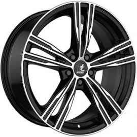 JANTE  IT WHEELS AMOS  Gloss Black / Polished	8X18  5/112 ET40  66,6