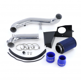 Kit d'admission d'air avec filtre à air sport bleu pour VW Golf 7 Jetta 1.8 TSI à partir de 14
