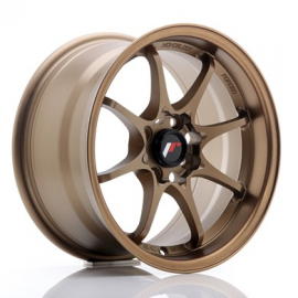 JANTE JR Wheels JR5 15x8 ET28 4x100 Dark Anodized Bronze