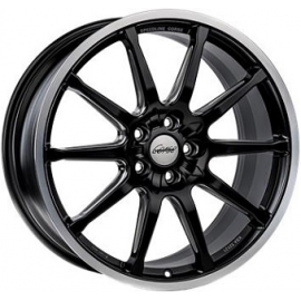 JANTE  SPEEDLINE SC1 Dull Black / Polished Lip 8,5X20  5X130 ET57 71,6