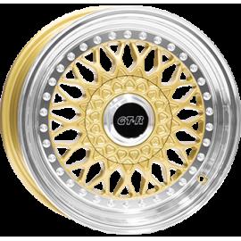 JANTE DIVERSEN RS601 GOLD POLISH 7,0X16 4X100 ET35 73,1