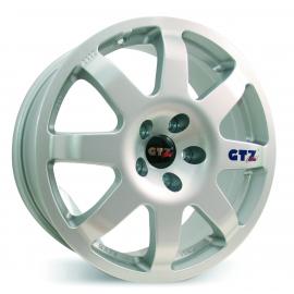 JANTE GTZ CORSE TYPE 2112 7,5X17 4X100 ET40 REN / VW / SEAT / OPEL / MINI / HONDA SILVER