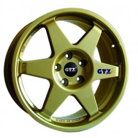 JANTE GTZ CORSE TYPE 2121 GOLD  8X18 5x100ET48