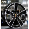 JANTES FORGED FPS-15 BLACK MACHINE FACE 2x 9,5X21 5X130 ET 46 / 2 x 11X21 5x130  ET58 71,6