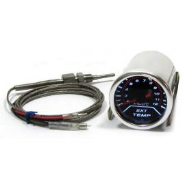 Instrument supplémentaire d'affichage de la température d'échappement Tenzo Race
