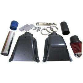 Filtre à air Boite à Air Admission Carbone Look Ram Air pour Peugeot 206 2.0 16V