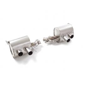 Silencieux arrière en inox  Avec valves à dépression RAGAZZON FF / 6.3 V12 (486kW) 2011/2016