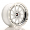 JANTE JR Wheels JR26 15x8 ET25 4x100/108 White w/Machined Lip