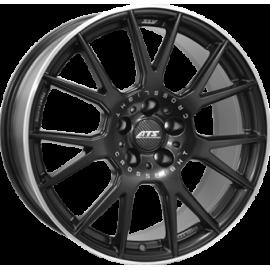 JANTE  ATS CROSSLIGHT Dull Black / Polished  8,5X19 5X130 ET50 71,6