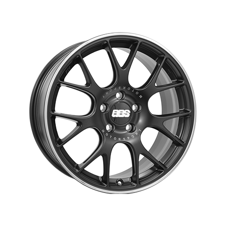 JANTE  BBS CHR  Dull Black / Polished 8,5X19 5X130 ET51 71,6