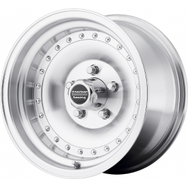 """JANTE AMERICAN RACING AR61 OUTLAW I MACHINED 14"""", 15"""""""