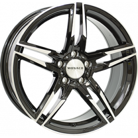 JANTE  MONACO GP1 Gloss Black / Polished 8X18 5X112 ET35 66,5