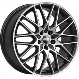 JANTE CMS C25 Black / Polished 7,5X18 5X112 ET47 57,1