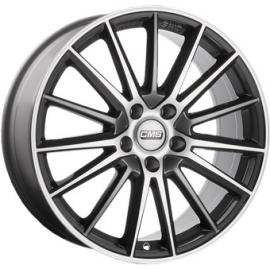 JANTE CMS C23 Gloss Black / Polished 8X18 5X112 ET40 66,4