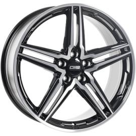 JANTE CMS C29  Gloss Black / Polished 8X18 5X112 ET40  66,4