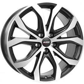 PACK 4 jantes Alutec W10X Dull Black Polished 8x18 5x120 ET 53 65,1 + 4 Pneus Kumho PS 71   255/45/r18 103Y XL
