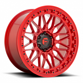 JANTE FUEL 4X4 TRIGGER  D758 Candy Red 20x9