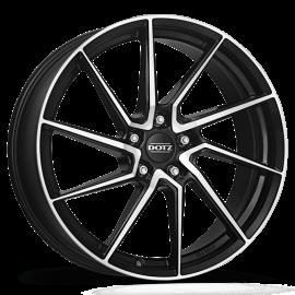 JANTE DOTZ SPA DARK Black/polished 8X18 5X100 ET 35