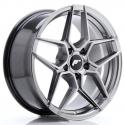 JANTE JR Wheels JR34 18x8 ET42 5x112 Hyper Black