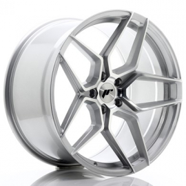 JANTE JR Wheels JR34 20x10,5 ET35 5x120 Silver Machined Face