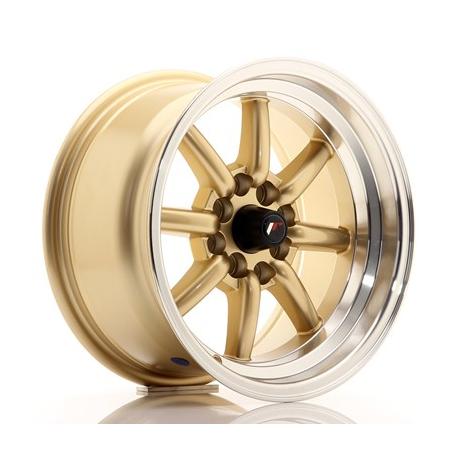 JANTE Japan Racing JR19 15x8 ET0 4x100/114 Gold