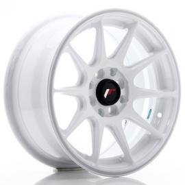 JANTE JR Wheels JR11 15x7 ET30 4x100/108 White