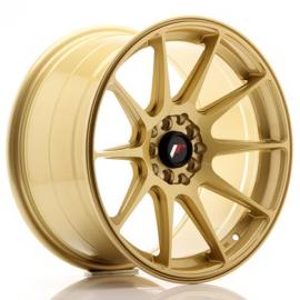 JANTE JR Wheels JR11 17x9 ET35 5x100/114 Gold
