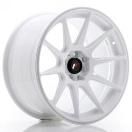 JANTE JR Wheels JR11 17x9 ET20 4x100/114 White