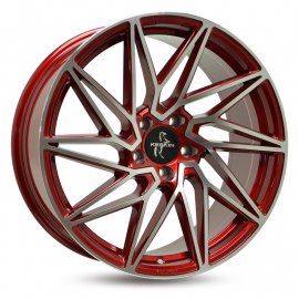 """JANTE KESKIN KT20 8,5 X 19"""" 5X112 ET 45 72,6 CANDY RED FROM POLISHED"""