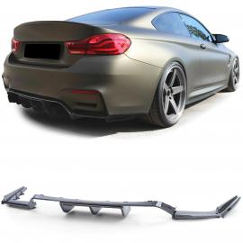 Diffuseur arrière sport look carbone pour BMW M3 F80 M4 F82 F83 à partir de 14