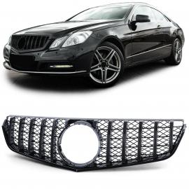 Calandre sport noir brillant pour Mercedes E Coupé C207 Cabrio A207 09-13
