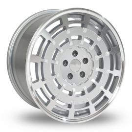 JANTE RADI8 R8SD1119 X 8.5ET455x11266,6Matt Silver Machined Face