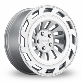 JANTE RADI8 R8T1218 X 8.5ET405x11266,6Matt Silver Machined Face