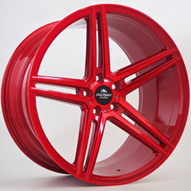 JANTE FORZZA BOSAN CANDY RED 10,5X20 5X120 ET 37 72,6